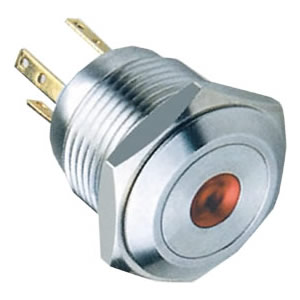 16-D6 16mm 1NOstainless steel push button switch