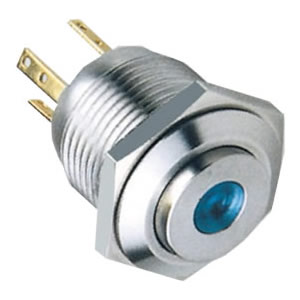 16-D7momentary metal push button switch
