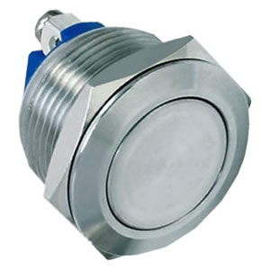 19-A4 19mm 3A head shape stainless steel push button switch