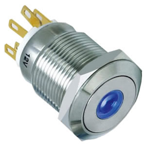 19-E2 19mm push button switch