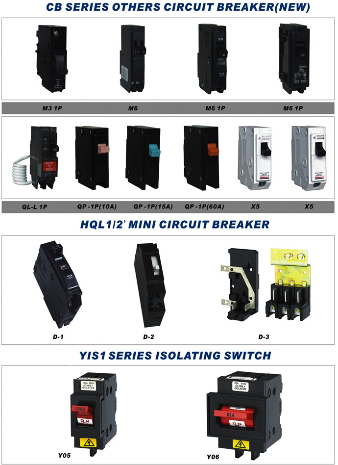 1p 60a Mini Circuit Breaker Types Of Mcb Circuit Breaker