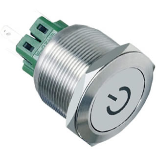5A characterpush button switch