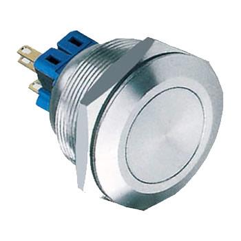 28-B1 28mm 5A self-locking 1NO1NC or 2NO2NC flat IP67 push button switch