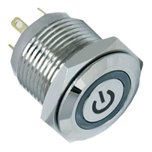 2A 36V DC momentary switch