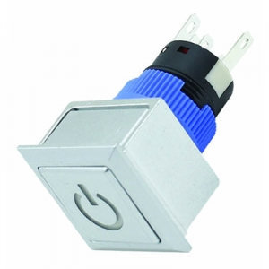 2NO2NC flat IP65 push button switch