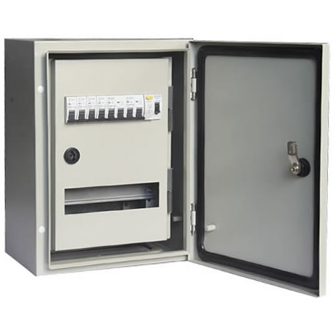 Modular waterproof Metal Enclosure 3 phase power distribution box ...