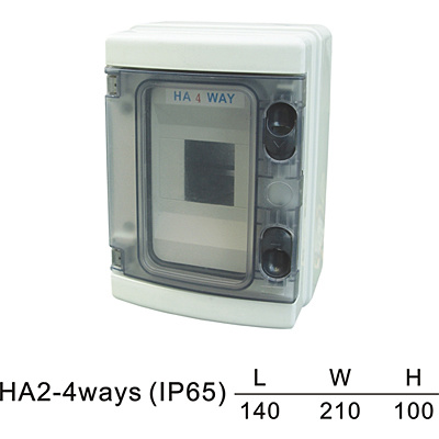 ABS PC 5-25 ways HA Plastic box HA series