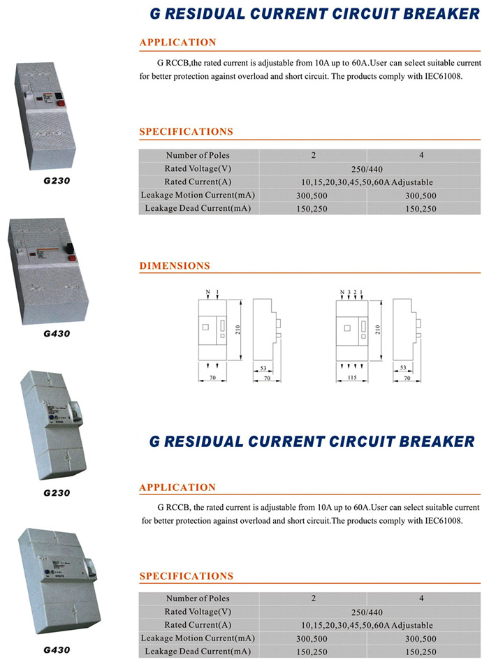 g230-1p2p3p-30-ma-rcd-g230-residual-current-circuit-breaker
