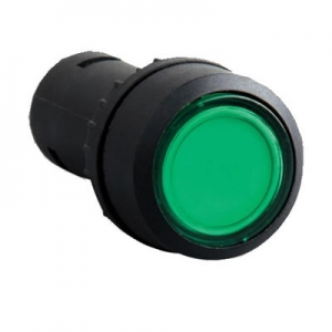 Green Color 22mm push button switch