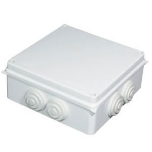 IP55 Waterproof junction box with rubber cut out box