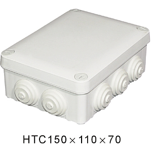 IP65 ABS Waterproof Junction box with plastic screw