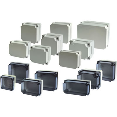 IP65 ABS or PC EURO Plastic box EURO series