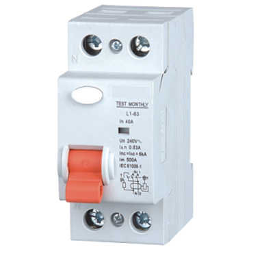 Residual Current Breaker With Overload Protection