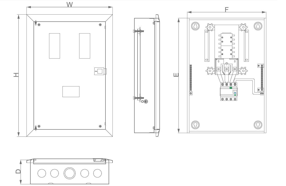 mdb flush metal disribution box specification 5 Pin Din Power Schematics