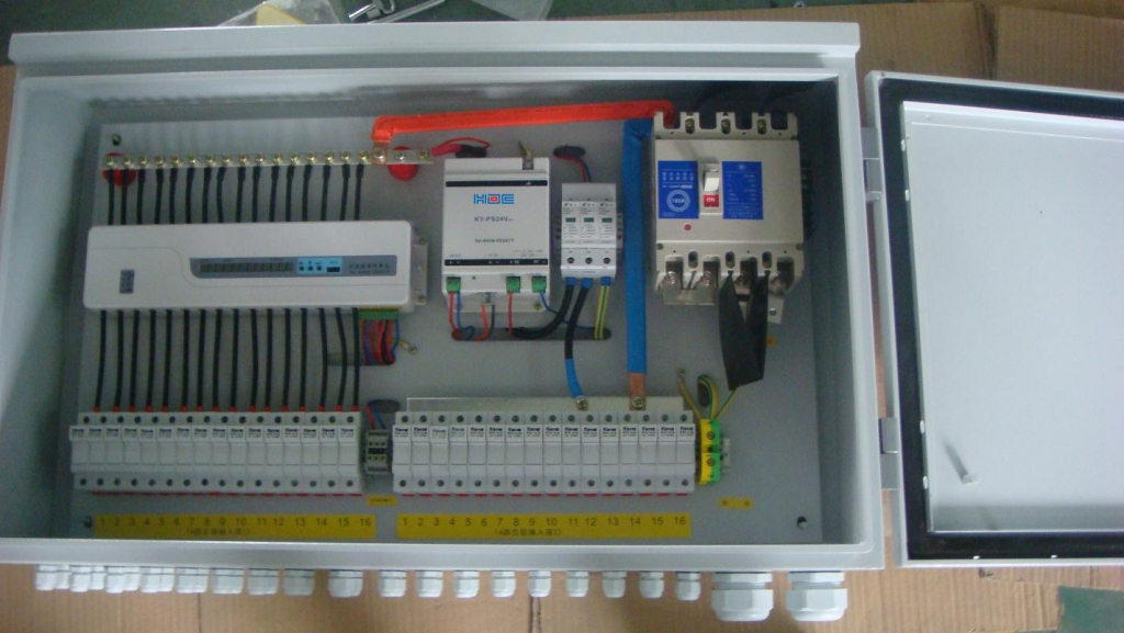 Pv Array  biner Box Solar Power Distribution X on circuit breaker wiring diagram