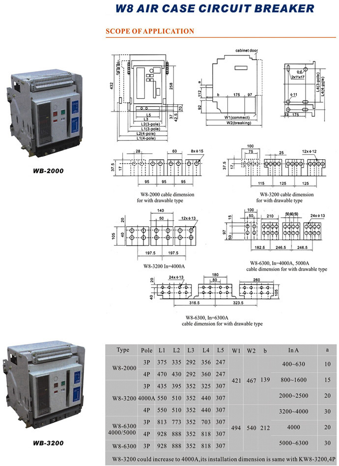 wb-2000-3p4p-increase-to-4000a-air-case-circuit-breaker