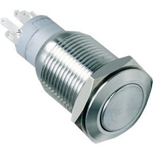 flat IP67 push button switch