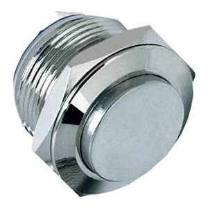 high flush stainless steel push button switch