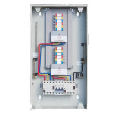 split type din rail distribution board distribution contactor relay box wiring