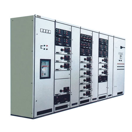Low- voltage withdrawable switchgear cabinet MNS - Distribution  board,circuit breaker,fish tape,cable marker,anti vandal switch ,Thermostat:ezitown