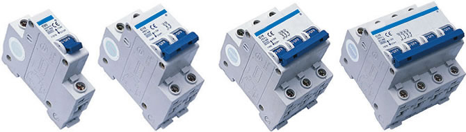 C45N DCPV High Breaking DC Mini Circuit Breaker(MCB)