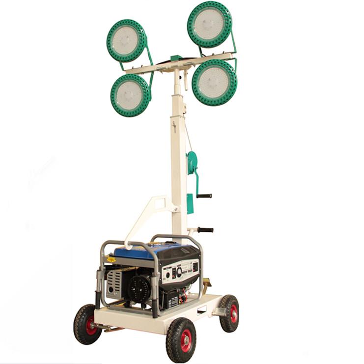 MO-4400 Manual Mobile Trailer Light Tower
