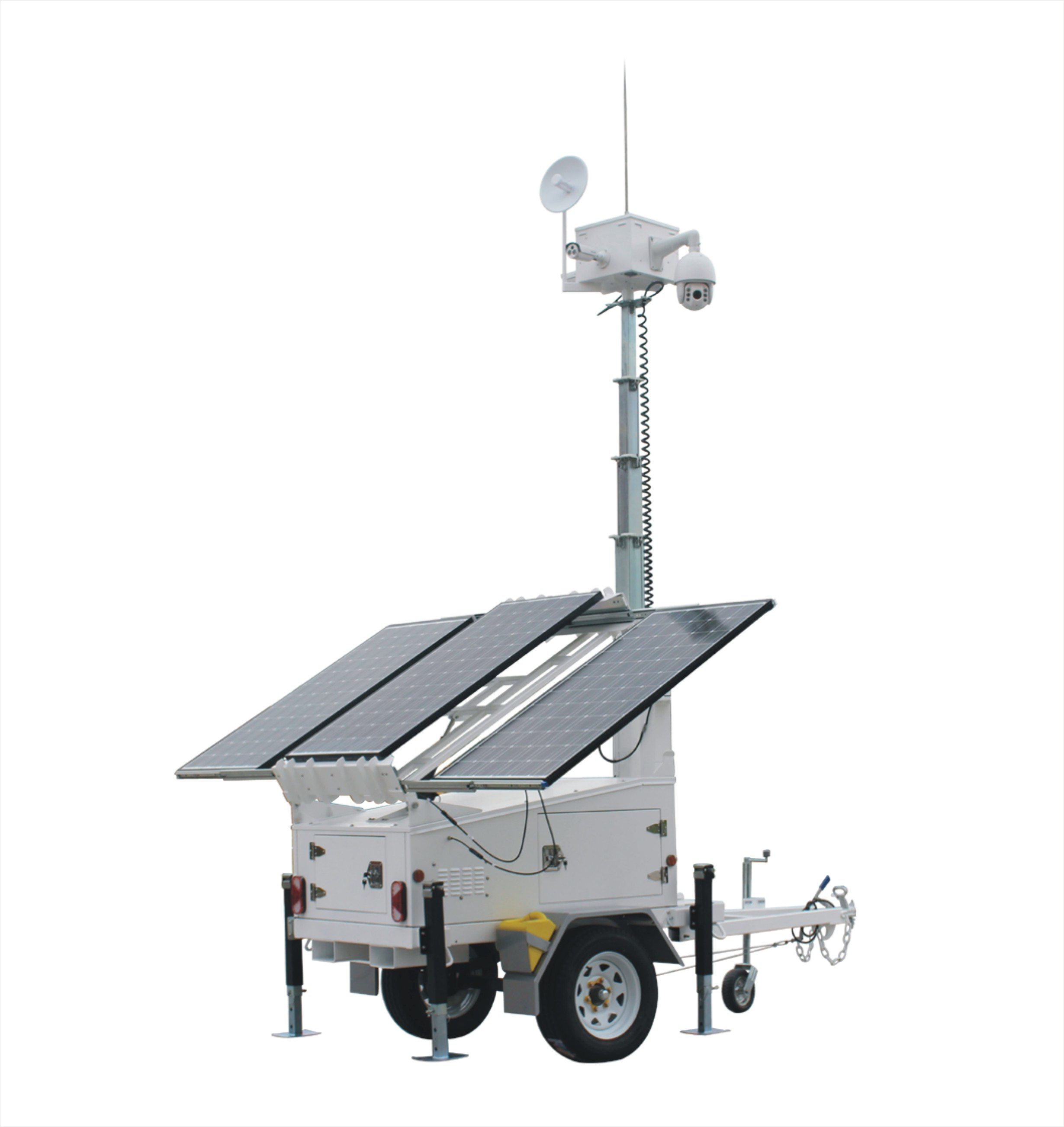 SV3300-4 Ezitown Solar Led Mobile Light Tower Trailer
