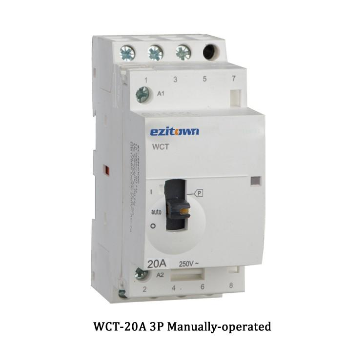 Wct 20a Ac Household Modular Contactor Distribution