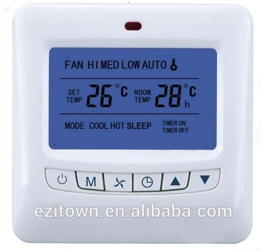 room LCD thermostat