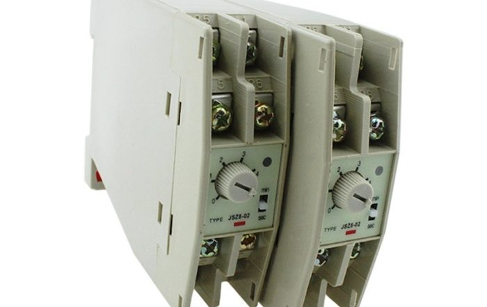Ezitown Din Rail Mounting On Off Delay Timer Relay JSZ8