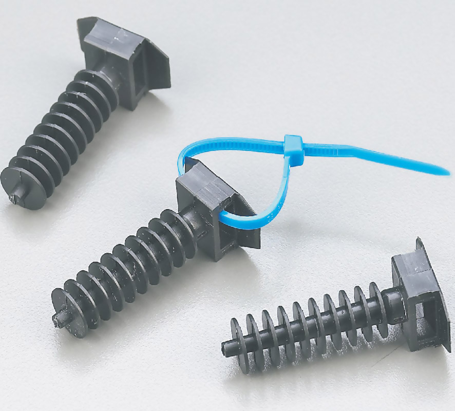 Tie Mounting Nail for PCB or Insulate Sheet or Wall