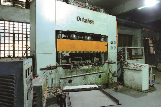 casting and forging machine