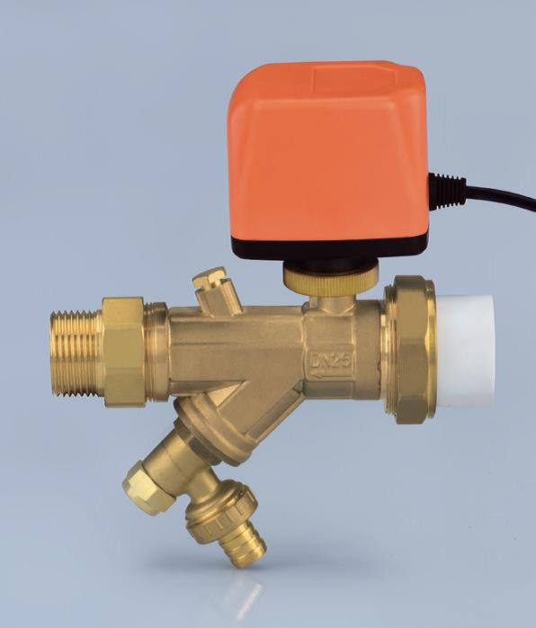 Ezitown H907 Double live connection filter electric ball valve